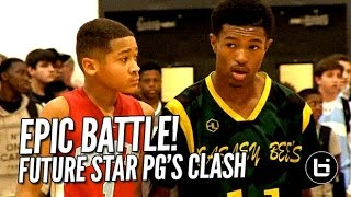 Young Chicago Point Guards Duel: KD Wright (Beasley) vs Mason Jones (Kenwood)