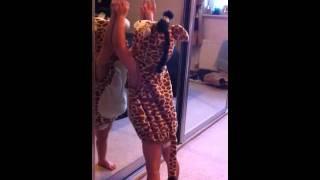 Toddler giraffe