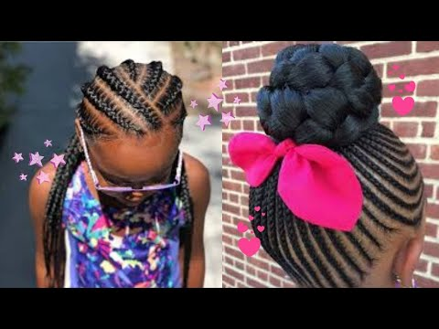 Kids Natural Hairstyles Rubber Band