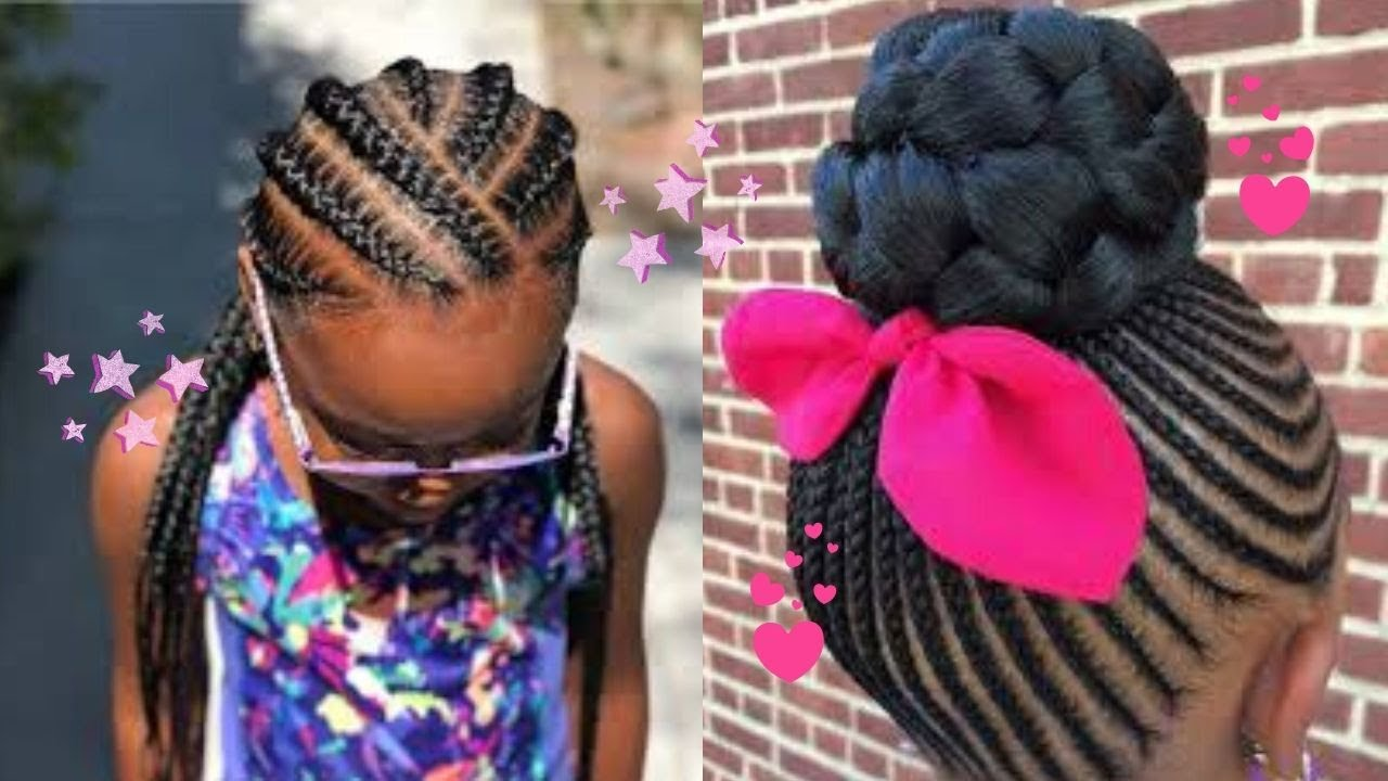 Adorable Cute Black Girl Hairstyles Compilation 2020 I Braids Edition Youtube