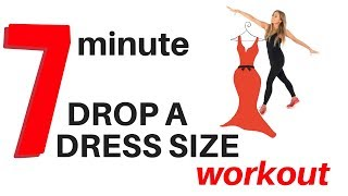 7 MINUTE WORKOUT - DROP A DRESS SIZE - 7 DAY HOME WORKOUT EXERCISE CHALLENGE