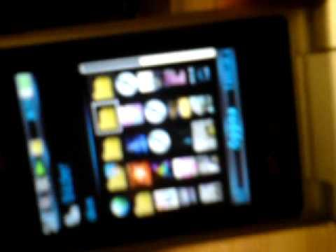 sony ericsson w508 flash menu theme
