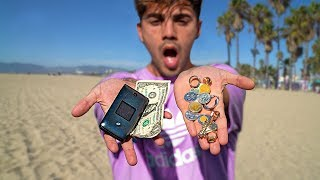Encontré Dinero Y Anillos Con Un Detector De Metales
