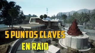 5 Sitios claves en Raid | Black Ops 2 [HD]