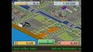 SimCity DS Nintendo DS Gameplay - Campaign