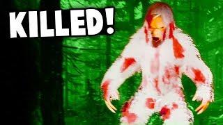 WE KILLED THE YETI! BEST Tactic to Kill Bigfoot! (Finding Bigfoot 2.0 Update Gameplay)