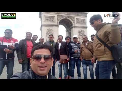 Europe Tour  Let's Start Journey With Safe Shop KNOWLEDGE GURU