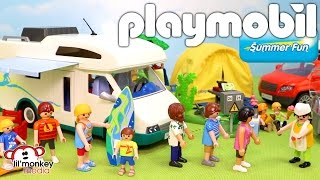 Playmobil Summer Fun! Summer Camper, Family SUV, Family Camping and More!