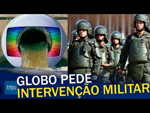 Globo pede intervenção militar para manter lockdown / Comandante Robinson  Farinazzo explica o caso