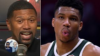 Was Giannis taking a shot at Kawhi with load management comments? | Jalen & Jacoby