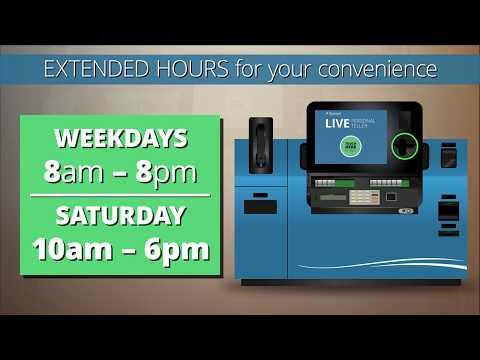 Rivermark Personal Teller Kiosk- Fast, Easy & Convenient banking!