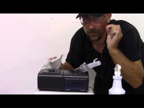 How to clean your CPAP machine.