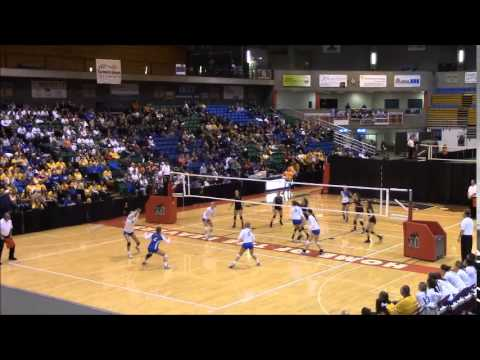 2014 ND State Volleyball Quarterfinals, Elizabeth Asp - #20 (Outside Hitter, DS)
