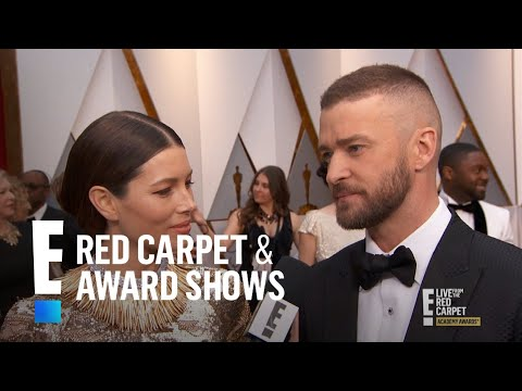"Justin Timberlake Says Jessica Biel Is ""Perfection"" at 2017 Oscars 