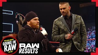 WWE Raw Full Results & Review | WWE Responds To AEW | Going In Raw Podcast