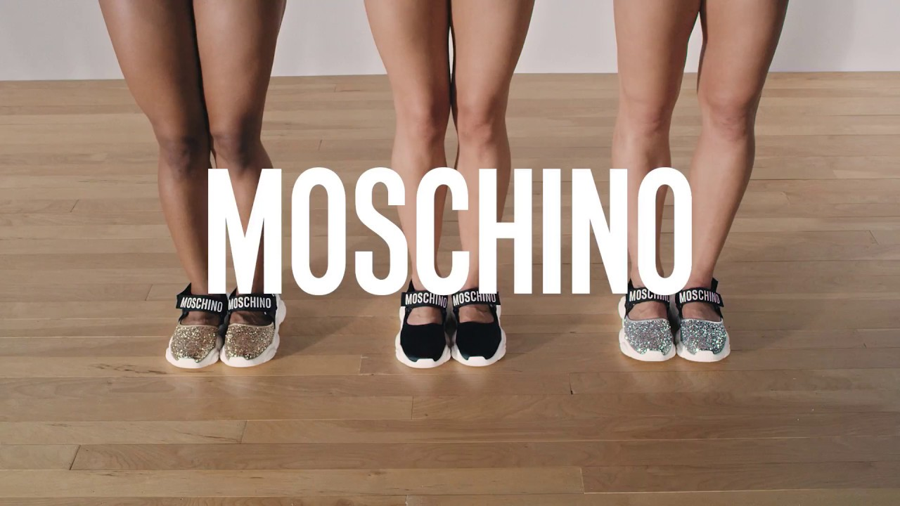 1cd7bb48cb S/S19 preview: the new Moschino Teddy Shoes! - YouTube
