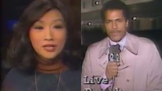 Connie Chung Throws To Lester Holt | KCBS-TV LA Channel 2 News 1983