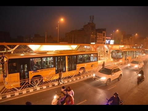 Amritsar Metro Bus