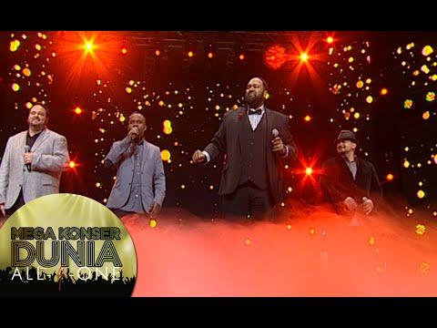 Nostalgia lagu dari All 4 One 'I Swear' [Mega Konser Dunia] [14 des 2015]