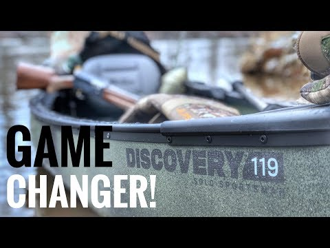 My New Duck Boat! - Old Town Discovery 119 Solo Sportsman - Complete Overview