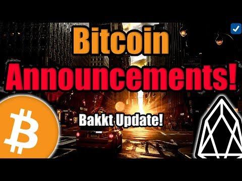 BAKKT Update | SEC vs Kik (KIN) | EOS Top Altcoin in China [Crypto News]