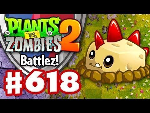 BATTLEZ! Potato Mines and Tile Turnips! - Plants vs. Zombies 2 - Gameplay Walkthrough Part 618