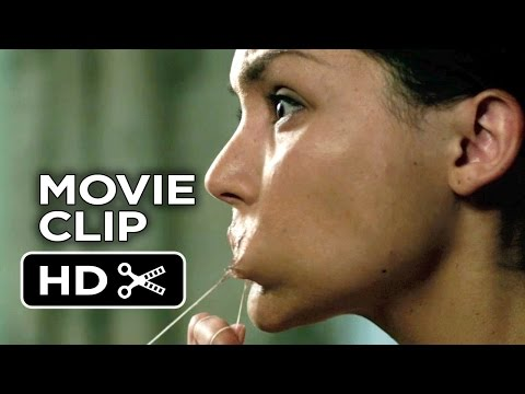 Ouija Movie CLIP - Flossing (2014) - Olivia Cooke, Daren Kagasoff Horror Movie HD