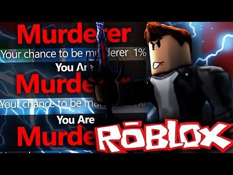 Roblox | Murder Mystery 2 | TRIPLE MURDERER AT 1%!!