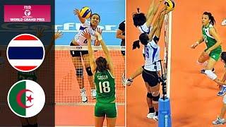 สาวไทยทุบทีมจากแอฟริกา 25-7 !! (ไทย - แอลจีเรีย) วอลเลย์บอลเวิลด์กรังด์ปรีซ์ 2013