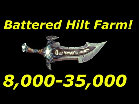 "WoW 6.2.3: 8,000-35,000 Gold ""Battered Hilt"" Farm! WoD Gold Farming Guides"
