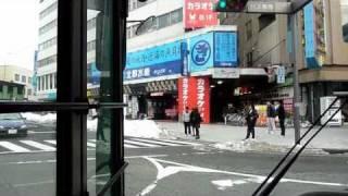 【中心街100円循環バスの旅】 山形市