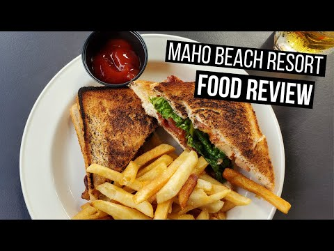 Sonesta Maho Beach Resort Food Tour | Maho Beach Food Highlights