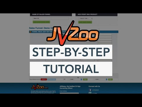 How To Setup and Launch Your Product On JVZoo and Create a Sales Funnel