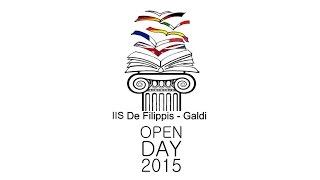 IIS DE FILIPPIS  - GALDI  -  OPEN DAY 2015