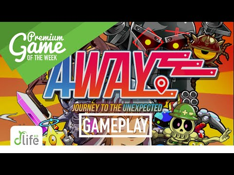 AWAY Journey to the Unexpected (iOS/Switch) - First 10 Minutes of Gameplay |
