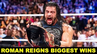 ROMAN REIGNS TOP BIGGEST WINS IN WWE HISTORY😃