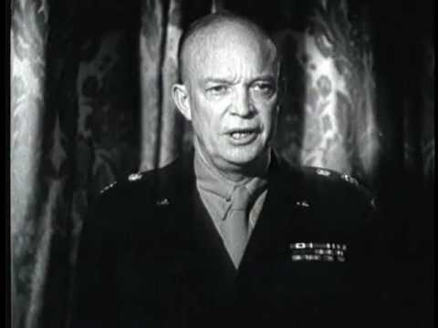 FAMOUS GENERALS: EISENHOWER | The Life of General Dwight D. Eisenhower Documentary