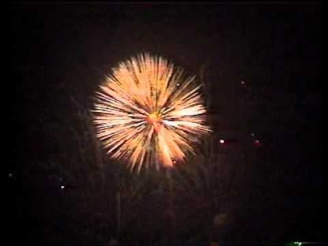 Ellesmere Fireworks and 16 inch shell