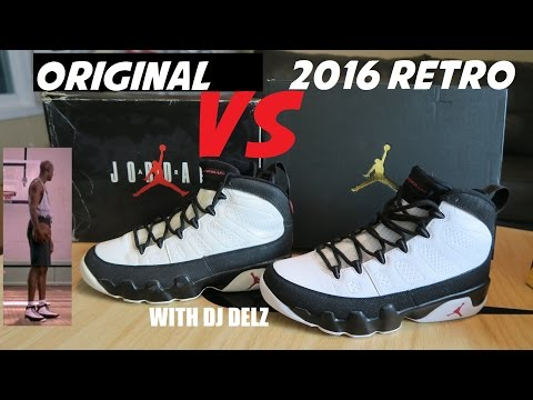 Air Jordan 9 Retro Low 'Black White' discount authentic On Feet Look -  YouTube