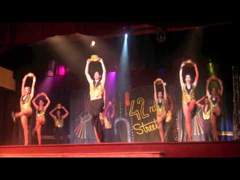 ONE SINGULAR SENSATION ~~ the RIO de ORO DANCE PROS  from 'A CHORUS LINE'