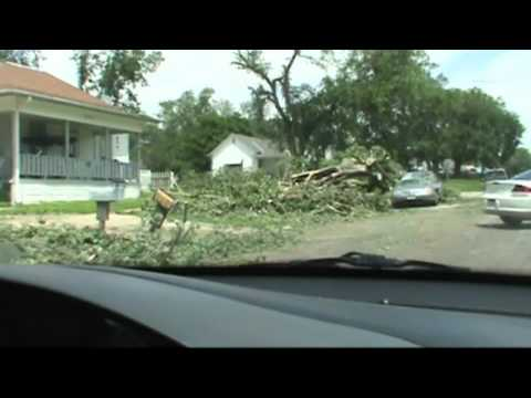 Superior Nebraska Tornado Damage