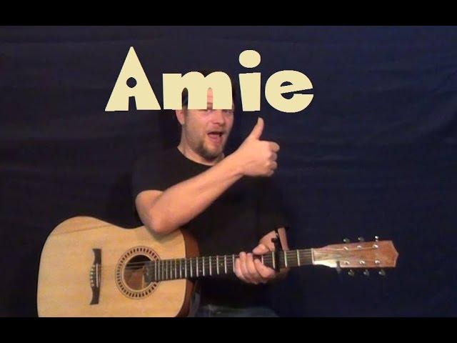 Amie (Pure Prairie League) Easy Guitar Lesson How to Play Tutorial ...