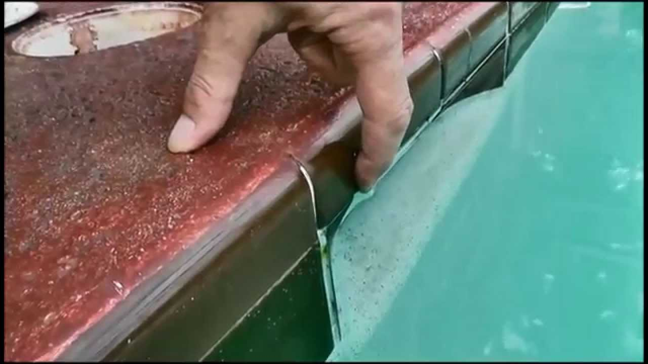 How To Check Proper Swimming Pool Water Level - YouTube