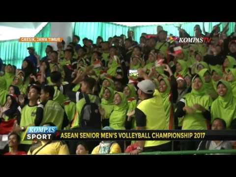 Kejuaraan Voli se-Asia, Indonesia Tekuk Arab Saudi 3-1