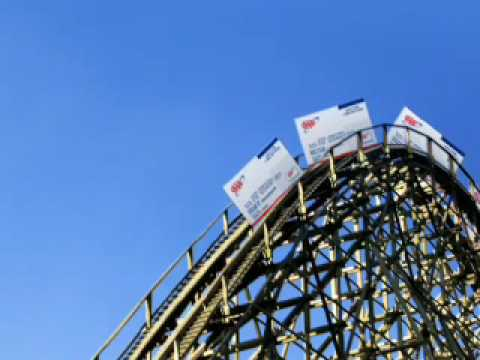 AAA mid-atlantic rollercoaster tv commerical, entertainment discounts