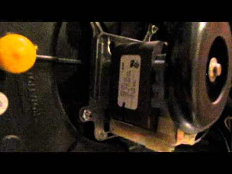 A failing goodman furnace draft inducer blower 22307501 for Furnace blower motor noise