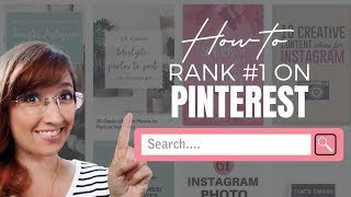 How to Rank First on Pinterest Search