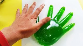 How To Make The Hulk Green Lime Hand Jelly DIY Giant Gummy Recipe