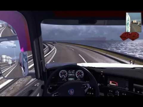 Euro Truck Simulator 2  Marseille Tripolis con Scania T