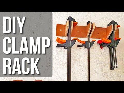 Clamp Rack Project - Part 1: Quick Clamps